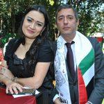 Mehriban Samadova y Elkhan Aliyer