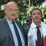 Valentin Petrov Modev, embajador de Bulgaria, y Elkhan Aliyer