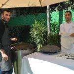Dib Haraje y Yousef Mazzeh fueron los encargados de elaborar el pan de sash