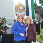 Jaqueline Espitia Arias, embajadora de Colombia, y Wendy Coss