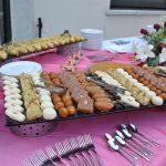 Deliciosos postres árabes, fueron parte del bufé