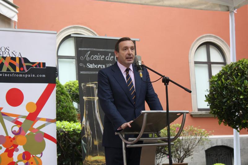 Luis Fernández-Cid, embajador de España en México