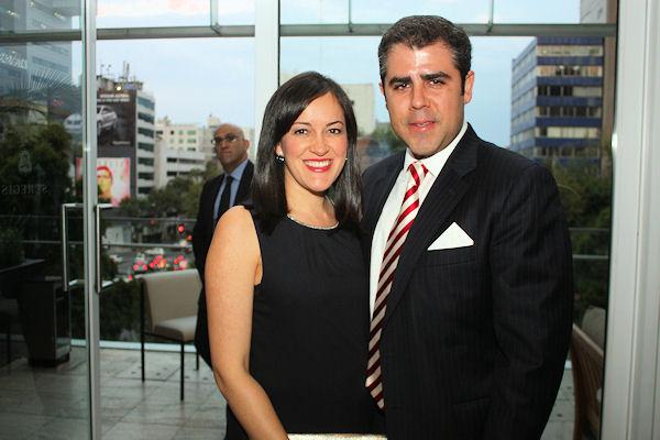 Marilú Rozada y Alejandro Rodríguez