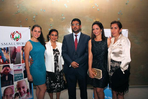 Ana Isabel Campillo, Zulema Contreras, Abdulla Mohamed Al Suwaidi, Amy Mexsen y Dora Uribe