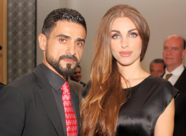 Fadi Ghaith y su esposa Salam Hamzeh Ghaith