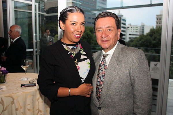 Tania Galván y Henry Maldonado